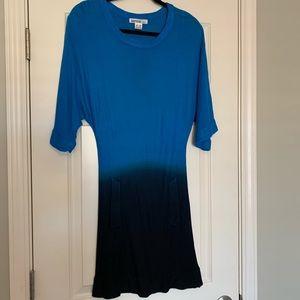 Kensie Ombré Sweater Dress